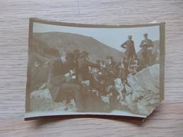 Salm Chateau - Photo: Excursion De Géologie 22 Avril 1909 - F: 9/6.5cm - Voir 3 Scans. - Vielsalm