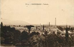- Dpts Div.-ref-ZZ97- Haut Rhin - Dannemarie - Tuilerie - Tuileries - Usine - Usines - Industrie - Carte Bon Etat - - Dannemarie