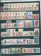 Colonie Timbres  D'AOF Pays Complet N°1 Au N°75  La Majoritée Neufs ** - A.O.F. (1934-1959)