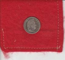 Louis-philippe  Premier ..Demi-Franc 1844  W...Lille   Veille Argent -  407.404  Exemplaire état TB - Dans Son Jus - France