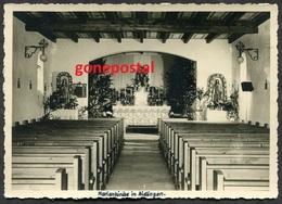 760 - Germany 1940s Marienkirche In AIDLINGEN Bei Boeblingen. Real Photo Postcard - Boeblingen