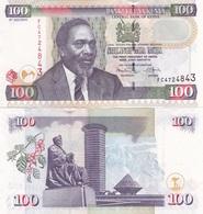 Kenya - 100 Shillings 2010 UNC Ukr-OP - Kenya