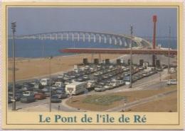 CPM - ILE DE RE - LE PONT (voitures) - Edition Jack - Ile De Ré