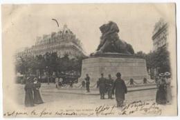 CPA - PARIS - LION DE BELFORT - Edition ? - Statues