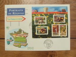 Portraits De Régions  BF 82  // Premier Jour FDC //  2 Enveloppes Max //  2005 - 2000-2009