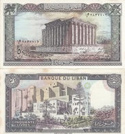 Lebanon - 50 Livres 1988 AUNC Ukr-OP - Libanon