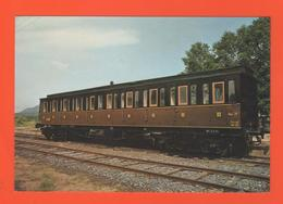 PL/2 A L E M F N° 12 LE CHEMIN DE FER VAPEUR DU RABODEAU VOITURE 3 E CL A BOGIES A PORTIERE LATERALE TYPE C 8 2/2 TY - Railway
