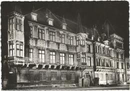 X2258 Luxembourg - Le Palais Grand Ducal Sous Le Feu Des Projecteurs - Nuit Nacht Night Notte Noche / Viaggiata 1961 - Lussemburgo - Città