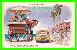 BERMUDA - ILLUSTRATOR, KEN GILES - COMICS,  OUR BABY CARS  - DEXTER PRESS INC - - Bermudes