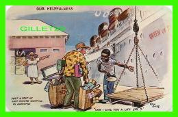 BERMUDA - ILLUSTRATOR, KEN GILES - COMICS,  OUR HELPFULNESS - DEXTER PRESS INC - - Bermudes