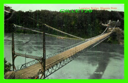 QUEENSTOWN, ONTARIO - LEWISTON BRIDGE, NIAGARA RIVER - THE VALENTINE & SONS - - Ontario