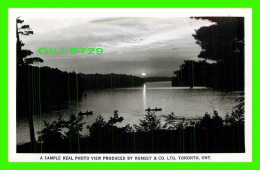 BALA,  ONTARIO -  MOON RIVER - A SIMPLE REAL PHOTO VIEW, ANIMATED, PRODUCED BY RUMSEY & CO LTD - - Ontario