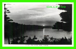 BALA,  ONTARIO -  SUNSET ON MOON RIVER - A SIMPLE REAL PHOTO VIEW, ANIMATED, PRODUCED BY RUMSEY & CO LTD - - Ontario