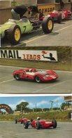 COURSE D AUTOMOBILE (MOTOR RACING AT BRANDS HATCH) 6 CARTES - Cartes Postales