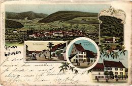SUISSE - Gruss Aus LAUSEN - Très Très Rare - Précurseur - Très Belle Carte Postée - BL Basle-Country