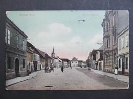 Ak GMÜND Stadtplatz 1908 Bahnpost //  D*31758 - Gmünd
