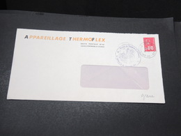 FRANCE - Grêves Des Postes En 1974 , Enveloppe De L 'Essonne , Cachet De La Chambre De Commerce - L 17063 - Marcophilie (Lettres)
