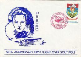 POLAR PHILATELY, R.E. BYRD, FIRST FLIGHT OVER SOUTH POLE, SPECIAL COVER, 1979, ROMANIA - Polar Flights