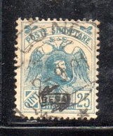 490 34 - ALBANIA 1920 ,  Soprastampa Besa  Yvert  N. 117  Usato - Albania