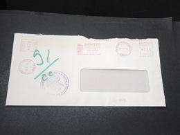 FRANCE - Grêves Des Postes En 1974 , Enveloppe De L 'Essonne , Cachet De La Chambre De Commerce - L 17068 - Postmark Collection (Covers)
