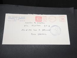 FRANCE - Grêves Des Postes En 1974 , Enveloppe De L 'Essonne , Cachet De La Chambre De Commerce - L 17069 - Postmark Collection (Covers)