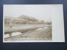 AK / Foto 1. WK 16.1.1918 Nach Dem Ausladen Im Westen. Bahnhof Mit Pferdekutschen - Weltkrieg 1914-18