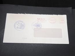 FRANCE - Grêves Des Postes En 1974 , Enveloppe De Mulhouse , Cachet De La Chambre De Commerce De L 'Essonne - L 17072 - Postmark Collection (Covers)
