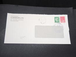 FRANCE - Grêves Des Postes En 1974 , Enveloppe Du Val D 'Oise , Cachet De La Chambre De Commerce De L 'Essonne - L 17073 - Postmark Collection (Covers)