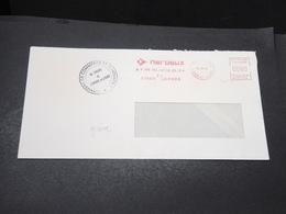 FRANCE - Grêves Des Postes En 1974 , Enveloppe De Loches , Cachet De La Chambre De Commerce De L 'Essonne - L 17074 - Postmark Collection (Covers)