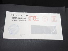 FRANCE - Grêves Des Postes En 1974 , Enveloppe De Condé Sur Huisne Cachet De La Chambre De Commerce De Alençon - L 17075 - Postmark Collection (Covers)