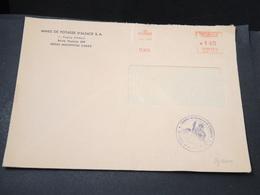 FRANCE - Grêves Des Postes En 1974 , Enveloppe De Mulhouse Cachet De La Chambre De Commerce De L 'Essonne - L 17076 - Postmark Collection (Covers)