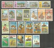Années Complètes 1981 & 1982 , 22 Timbres Neufs ** - Tokelau