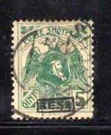 490 42 - ALBANIA 1922 ,  Soprastampa Besa  Yvert  N. 128  Usato - Albania