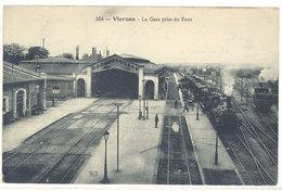 Cpa Vierzon - La Gare Prise Du Pont   ( S. 2792 ) - Vierzon