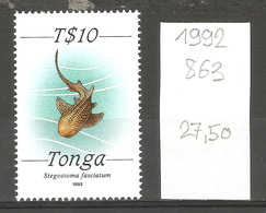 Tonga, 1992, Poisson - Tonga (1970-...)