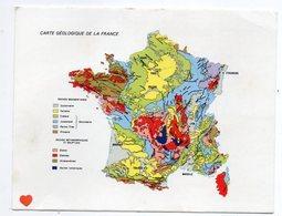 36763-ZE-GEOGRAPHIE--CARTE GEOLOGIE DE LA FRANCE-----------carte Géographique - Landkaarten