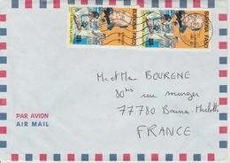 Burkina Faso Lettre De 1991 Pour La France - Burkina Faso (1984-...)