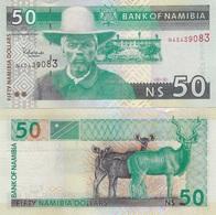 Namibia - 50 Dollars 2003 UNC Ukr-OP - Namibie