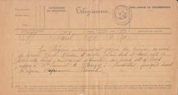Télégramme Officiel, Paris 18 Déc.1914. Progrès Limités En Belgique, Au Sud Route Ypres Et Du Coté De Nangy... - 1. Weltkrieg 1914-1918
