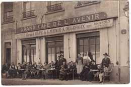 CPA RHONE.VILLEURBANNE.GRAND CAFE DE L'AVENIR.31 RUE HENON.CARTE PHOTO A.ROLLAND - Villeurbanne