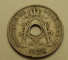 1920 - Belgique - Belgium - 10 CENTIMES, Michaux, Légende Belgique, Ces Soulignés 2 Traits Identiques, KM 85.1 - 1909-1934: Albert I