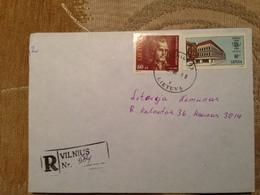 Lithuania Cover Sent From Vilnius 1996 - Lituania
