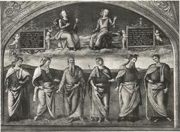 X2274 Perugia - Collegio Del Cambio - La Prudenza E La Giustizia E Uomini Illustri - Perugino - Dipinto / Non Viaggiata - Perugia