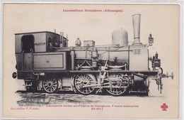 Locomotive Tender Pour Trains De Voyageurs, 4 Roues Accouplées - Trains