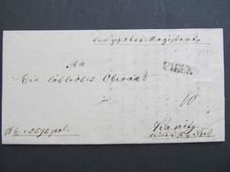 BRIEF PISEK 1836 ! /// D*31783 - Österreich