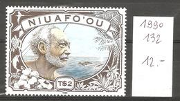 Niuafo'ou, 1990, Pêcheur Et Baleine - Timbres