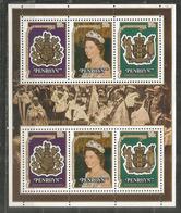Couronnement Reine Elisabeth II, Bloc-feuillet Neuf ** Ile  Penrhyn  Cote  15,00 Euro - Penrhyn