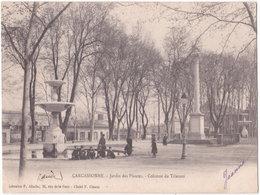11. CARCASSONNE. Jardin Des Plantes. Colonne Du Trianon - Carcassonne