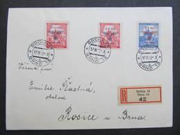 R-BRIEF Brno - Rosice 1942  /// D*31790 - Bohemia & Moravia