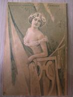 Lina Cavalieri / Cartolina Filigranata 1904 - Femmes Célèbres